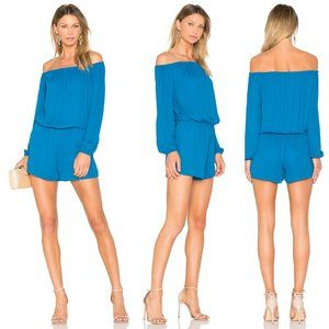 Three Eighty Two Thompson Off Shoulder Romper